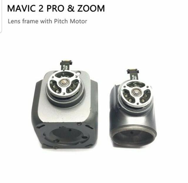 Genuine DJI Mavic 2 Pro Zoom Part – Gimbal Camera Lens Frame with Pitch Motor Motor replacement Parts for Repairing Used