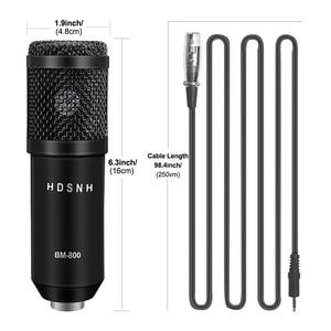 Image 3 - Professional bm 800 Condenser Microphone 3.5Mm Wired Bm 800 karaoke BM800 Recording Microphone for Computer Karaoke KTV