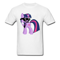 Hip Hip Twilight Sparkle Hipster Pony T Shirt Men Love Cartoon Cool Tee Shirts On Sale