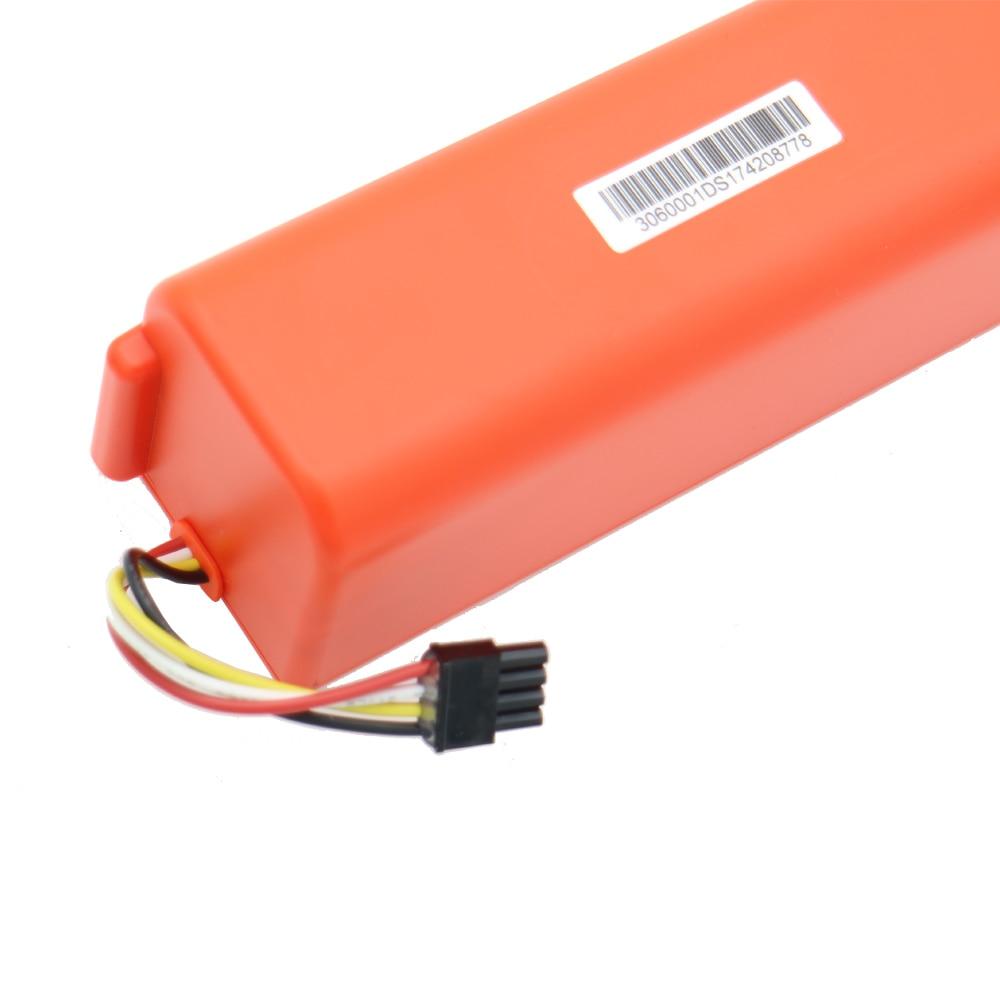 NEW 5200mAh li ion 18650 mi robot aspirapolvere Accessori parte batteria per xiaomi mi robot robotica Cleaner roborock S50 S51 - 4