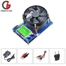 Medidor de voltaje de capacidad de descarga de litio, probador de batería de carga electrónica de corriente constante ajustable Digital LCD de 150V 10A 150W
