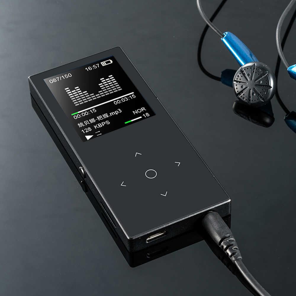ハイファイ MP3 16 ギガバイトメディアプレーヤースポーツ超薄型ミニ学生内蔵スピーカー MP3 プレーヤーレコーディング tf カード音楽プレーヤー