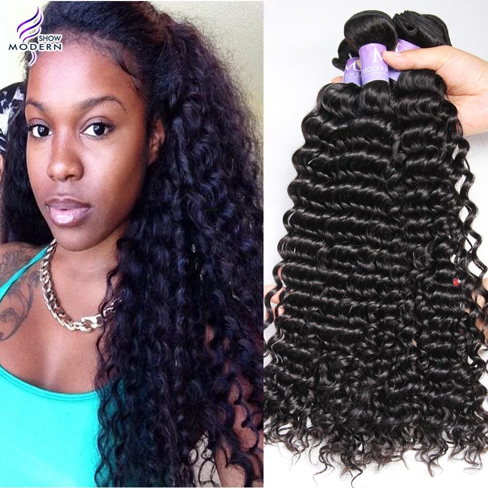 Deep Wave Brazilian Hair 7a Modern Show Hair Products Brazilian
