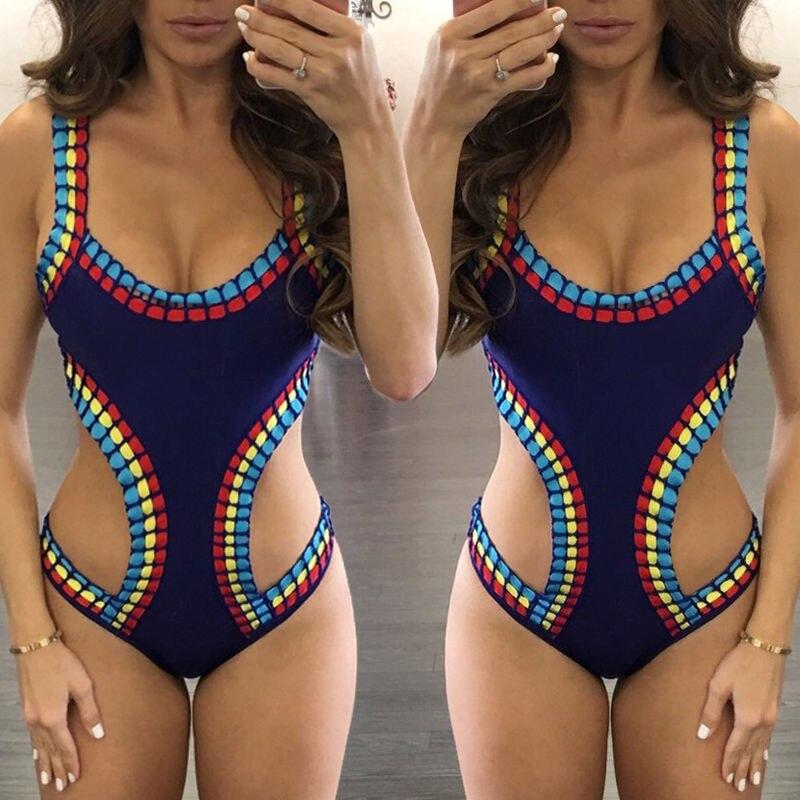 vestito di un pezzo del costume da bagno trikini swimwear delle donne sexy vestito di nuoto