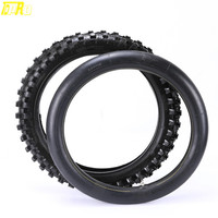 High Quality Rear 110/90 18 110 / 90 18 Tire Tyre with inner Tube for Motorcycle Dirt Pit Bike Motocross Trail