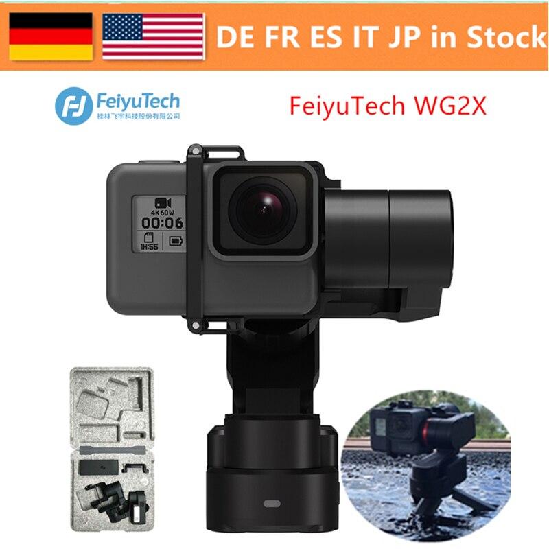 FeiyuTech WG2X 3-Axe Étanche Portable Cardan Portable Mains-Livraison Tournage Vidéo avec 360 Degrés Panoramique Pour Gopro 4/5 6 7