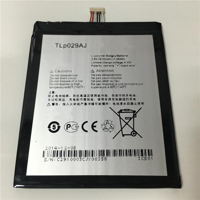 """imágenes para 3.8 V 2910 mAh TLp029A1/TLp029AJ Para Alcatel OneTouch Pop 3 5.5 """"OT-5025 OT-5025D Batería"""