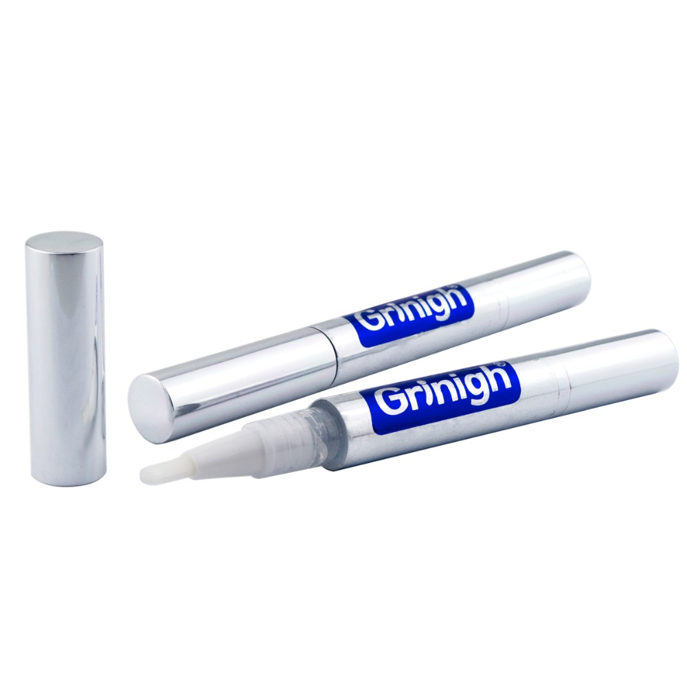 Grinigh <font><b>Tooth</b></font> White Cleaning Bleaching Dental Professional Kit <font><b>Teeth</b></font> <font><b>Whitening</b></font> <font><b>Gel</b></font> <font><b>Pen</b></font> 6% Hydrogen Peroxide