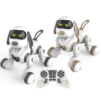 Wireless Remote Control Smart Robot Dog Toy Intelligent Talking Robot Interactive Puppy Toys Cute Animal Electronic Pet for Kids