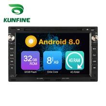 Octa Core 4GB RAM Android 8 0 Car DVD font b GPS b font Navigation Multimedia