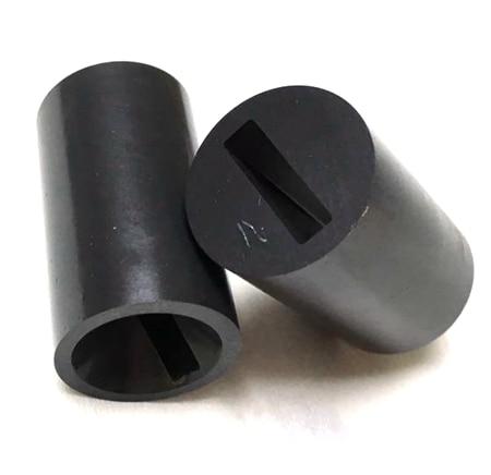 Free Shipping Flat Hole Boron Carbide Sand Blaster Nozzle B4C Sandblasting Nozzle 4x20x35mm 1pc
