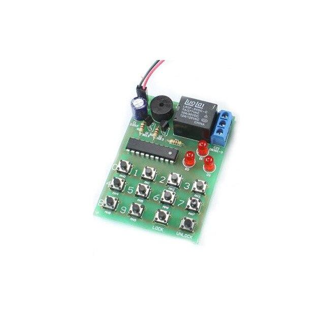 HQS1436 Einfache elektronische zahlenschloss schaltung diy kit ...