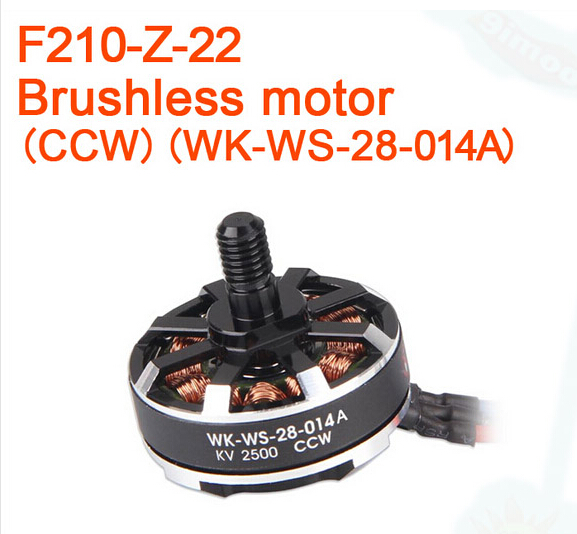 F17444 / F17445 Walkera F210 RC Helicopter Quadcopter spare parts Brushless motor F210-Z-21 CW / F210-Z-22 CCW walkera f210 rc helicopter quadcopter spare parts f210 z 31 hd mini camera 700tvl