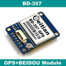 Beitian ttl nível 9600bps 4 m flash 1 hz 1.25mm 6 pinos conector 5.0 v gps + módulo bds BD-357