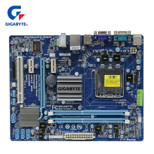 100% Gigabyte GA-G41MT-S2 Motherboard LGA 775 DDR3 Micro ATX USB2.0 Desktop Mainboard SATA2 For Intel G41 D3H DDR3 G41MT S2 Used цена