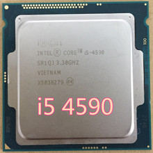 Intel Intel Core i5 4670K Processor 3.4GHz 6MB Socket LGA1150 Quad-Core CPU SR14A