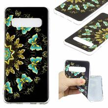 Silicone Phone Case For Samsung Galaxy S10 PLUS S10E Lite Mobile Protective Back Cover