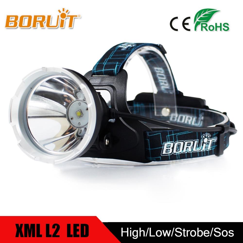 BORUIT 10W XML L2 Powerful LED Headlight Lanterna Front Head headlamp worch 3 modes Headlamp Suit For Bicycle Hunting Fishing sitemap 35 xml