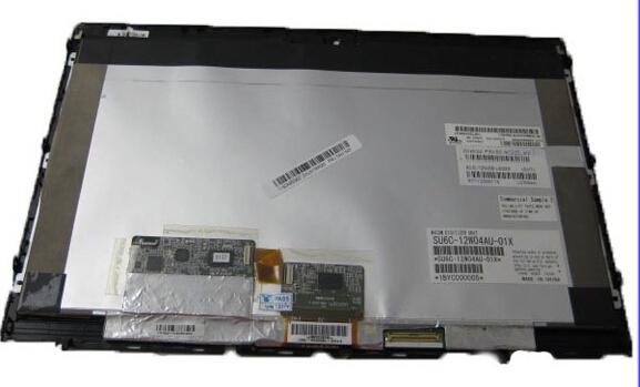 Lcd portátil alta calidad para lenovo x220t x230t LP125WH2 SLB1 pantalla lcd táctil digitalizador de reparación del reemplazo panel