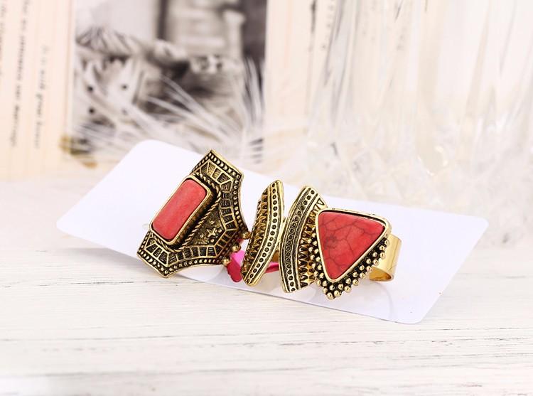 HTB1tQbdMVXXXXXCXVXXq6xXFXXXz Boho Style 3-Pieces Vintage Punk Knuckle Ring Set For Women - 2 Colors