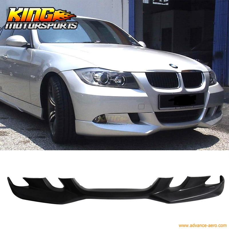 все цены на For 2006-2008 BMW E90 3 Series AC-S Style Front Bumper Lip Unpainted - PU онлайн