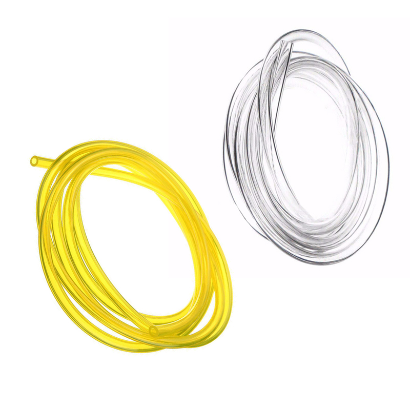2m Fuel Line 3*6mm Petrol Fuel Gas Line Pipe Hose Diesel Oil Tube For Trimmer Chainsaw Blower 1/8