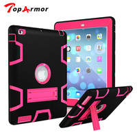 TopArmor Three Layer Armor Defender Full Body Protective Case For IPad Mini 123 Shockproof Heavy Duty