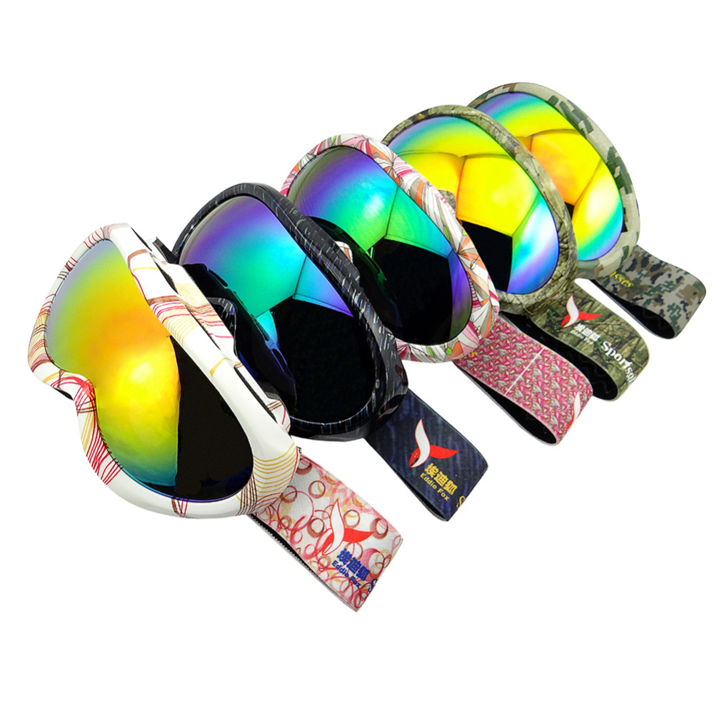 Prix pour HG-91Children Sphérique de Ski En Plein Air Anti-Buée de Neige-escalade glasse anti-brouillard ski lunettes professionnel ski neige lunettes