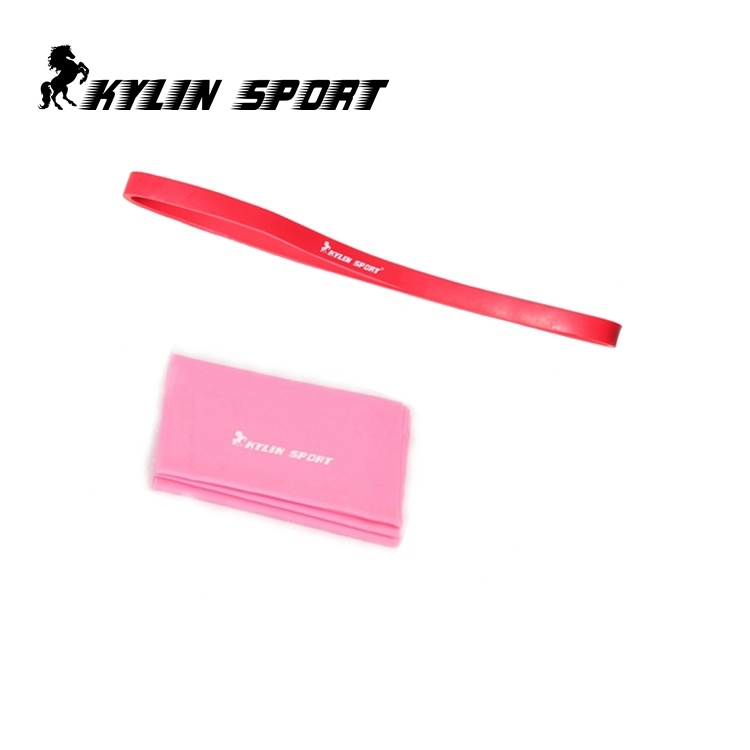 Set of 2 short cross fitness resistance band and 1.5m Yoga Pilates Stretch Resistance Exercise Fitness Band leajoy gm 006 5pcs set tension resistance fitness band