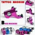 BOSS Taiwan Motor Tattoo Gun Strong Power  Rotary Tattoo Machine + Clip Cord Free Shipping