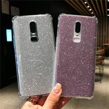 Glitter 2 in 1 AntiKnock Silicone Case For