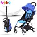 5.8 kg luz 15 colores Bebé carro paraguas cesta cochecito de bebé plegable portátil puede llevar al bebé carro niño verano