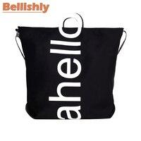 Bellishly Femal Solid velvet Suede Shoulder Bags Environmental Shopping Bag Tote Package Crossbody Bag Casual Handbag For Women