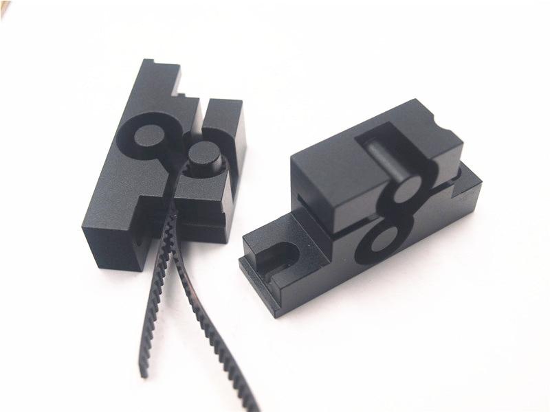 upgrade metal aluminum alloy Y axis belt holder timing belt tension for Reprap Prusa i3 MK2 3D printer цена