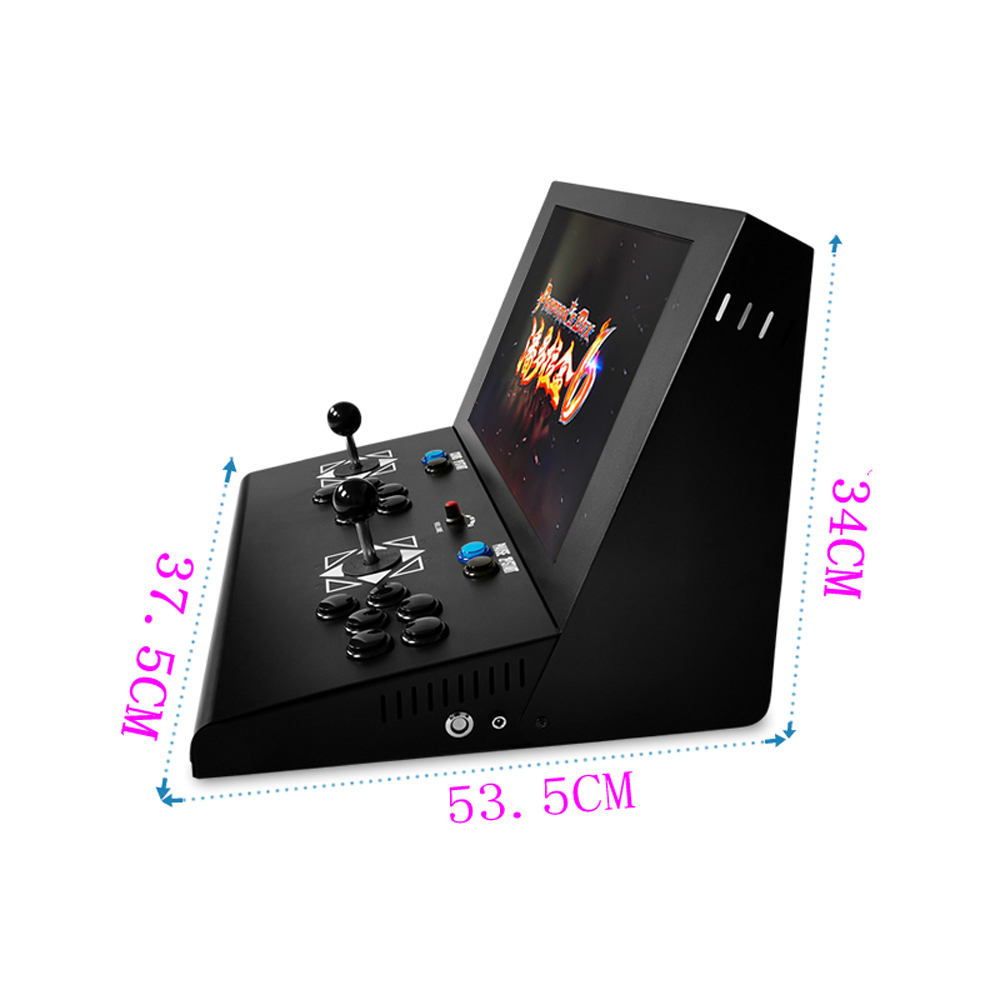 19 inch LCD Mini Arcade Machine With Classical Game 2222 In 1 PCB With long shaft joystick and button in Coin Operated Games from Sports Entertainment