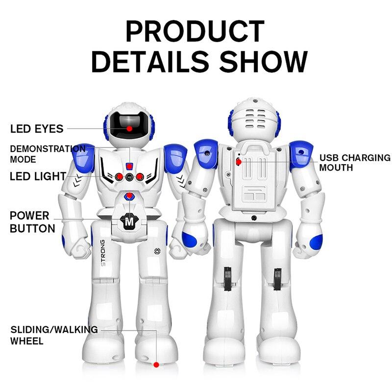DODOELEPHANT робот зарядка через usb Танцы жест фигурку Управление RC робот игрушка для мальчиков Для детей подарок на день рождения подарок