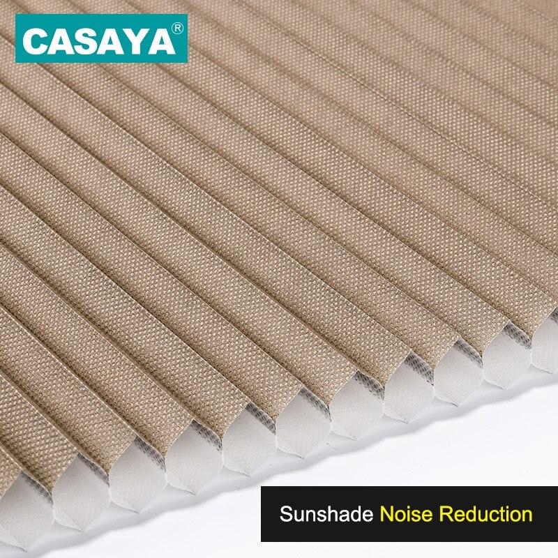 CASAYA Custom Cellular Shades Honeycomb Blinds Noise Reduction Heat Insulation Blackout blinds honeycomb 39