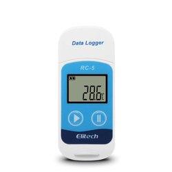 RC-5 Mini USB Temperatur Datenlogger Temperatur Recorder Monitor für Kühllager Kette Transport Logistik