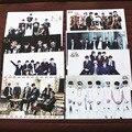 8 pçs/set diferentes designs A3 Cartazes KPOP BTS Bangtan Meninos Pinturas Parede Pictures Adesivos de Parede À Prova de Balas para Os Escoteiros HB082