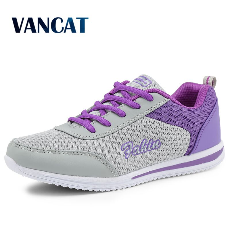VANCAT Women Casual Shoes Summer Comfortable Breathable Mesh Flats 2018 Fashion Women Shoes Female Platform Shoes Woman sneakers free shipping fashion loss weight women shoes spring summer autumn swing female breathable mesh shoes women casual shoes 2717w