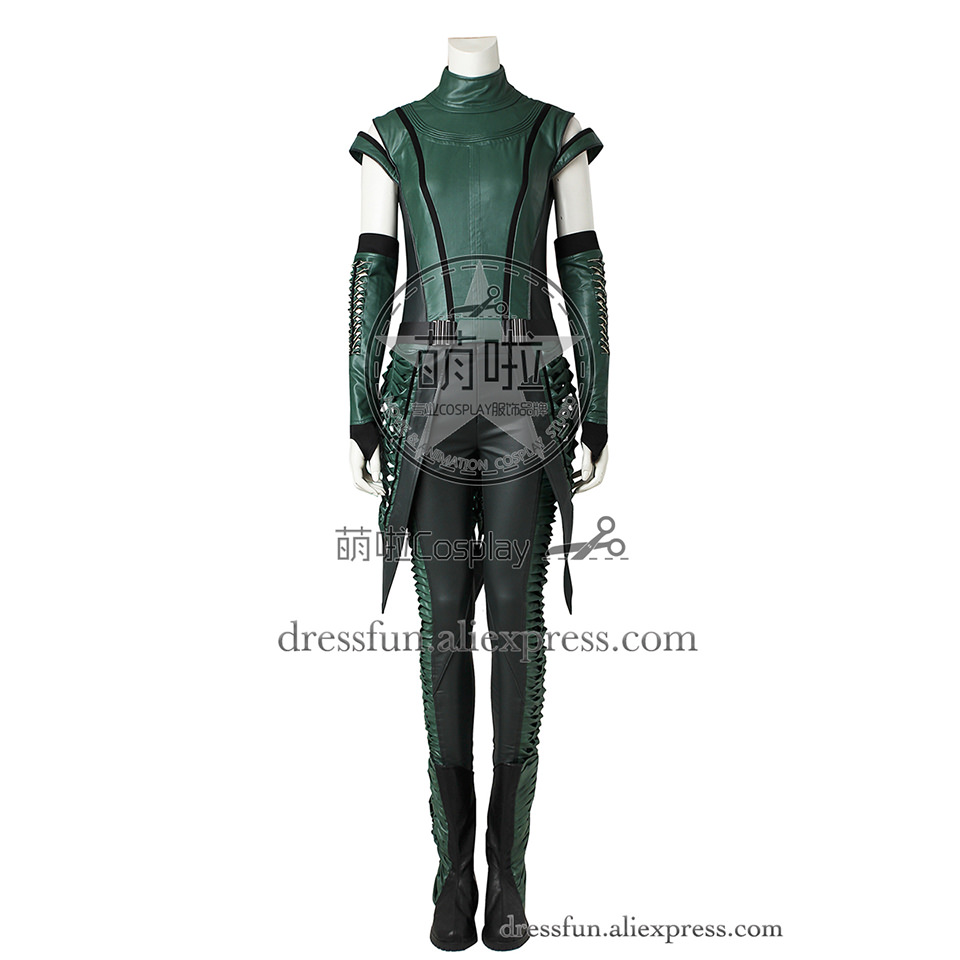 Guardians of the Galaxy Vol. 2 Cosplay Costume Lorelei Brandt Mantis Costume Green Outfits Fashion Cool Fast Shipping Halloween