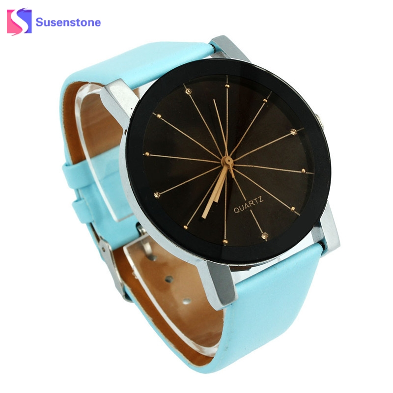 Cheap Women Men Watch Analog Quartz-Watch Fashion Dial Clock Round Case Simple Style PU Leather Wrist Watches for Women Reloj retro small dial watch women simple desingn thin belt casual watches womens vogue pu leather analog quartz wrist watch reloj n