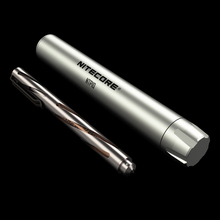 1 PC best price Nitecore NTP10 titaniunitecore titanium Fisher space pen with aluminum alloy case