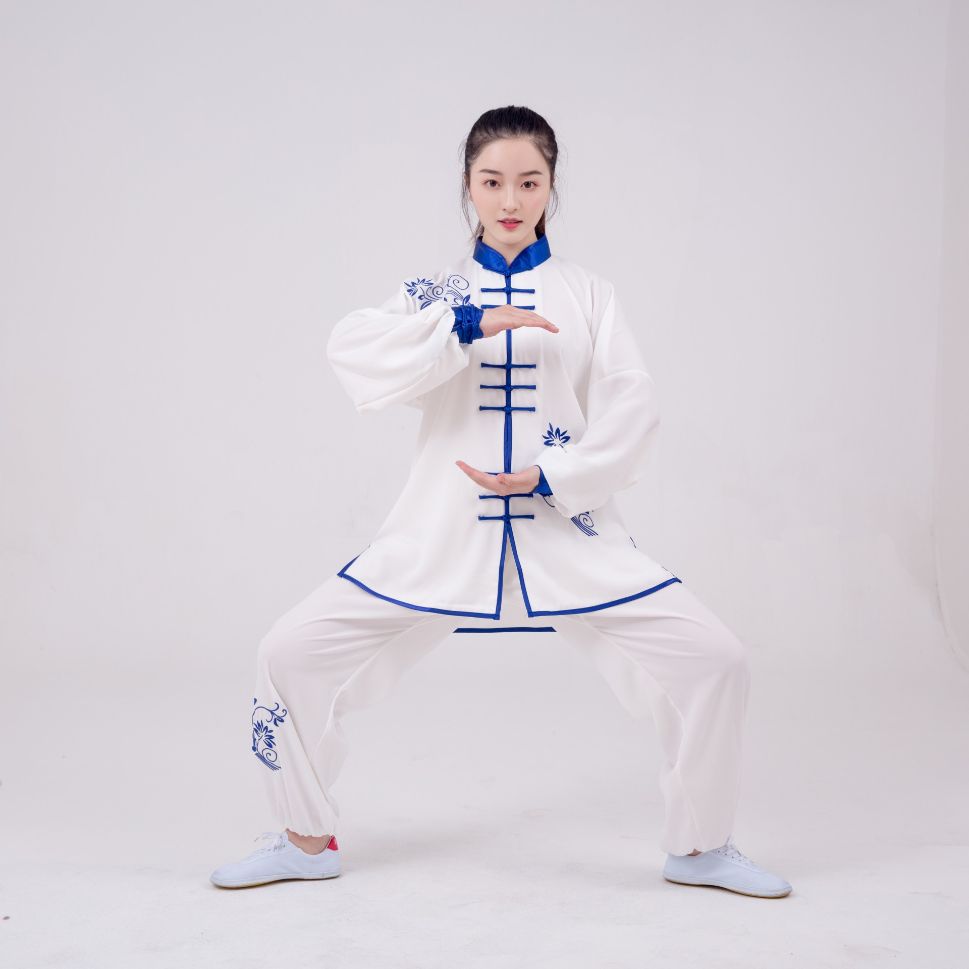 New Custom Made Tai Chi Suits Cotton Wu Shu Clothes Kung Fu Uniform Morning Exercise The Martial Arts Performance Wear Clothing