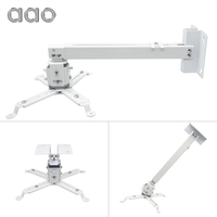 AAO Projector Brackets Adjustable Projector Ceiling Mount Loading 15KG Roof Projector Bracket YG600 HD Projector Mount Stand