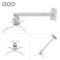 Supports de projecteur AAO support de plafond de projecteur réglable 15 KG support de projecteur de toit YG600 HD support de montage de projecteur