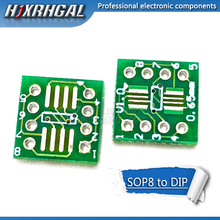 100 шт. TSSOP8 SSOP8 SOP8 К DIP8 плата передачи DIP Pin плата Pitch адаптер hjxrhgal