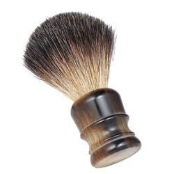 Деревянная ручка Для мужчин, щетка для бритья, профессиональная Мужская бритва лицо, борода прибор для бритья щетка для чистки лица для