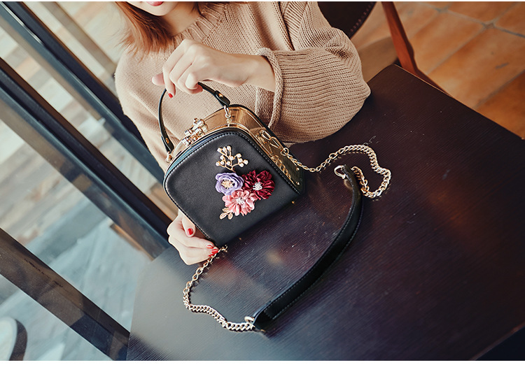 Women crossbody bag female messenger bag with long and short strap fashion designs flowers 49