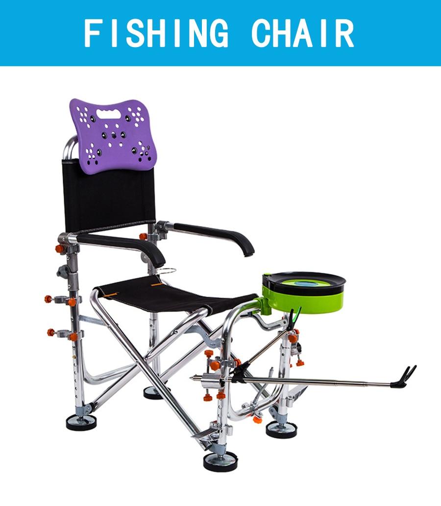 De Pesca Fezes De Pesca Cadeira de Acampamento